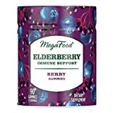 Cheap MegaFood, Elderberry Immune Support Gummy, Promotes Immune Defenses, with Zinc and Organic Elderberry, Vegan and USDA Organic, 90 Chews (45 Servings)