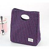 Goodscene Small Lunch Bag Fashion Handcuffs Lunch Small Square Bag(Purple)