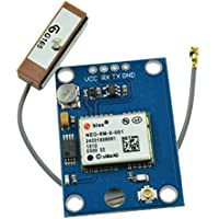 HiLetgo New GY-NEO6MV2 NEO-6M GPS Flight Control Module With EEPROM MWC APM2.5 Ceramic Antenna