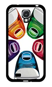 Computers in a Circle - Phone Case Back Cover (Galaxy S4 - TPU Rubber Silicone)