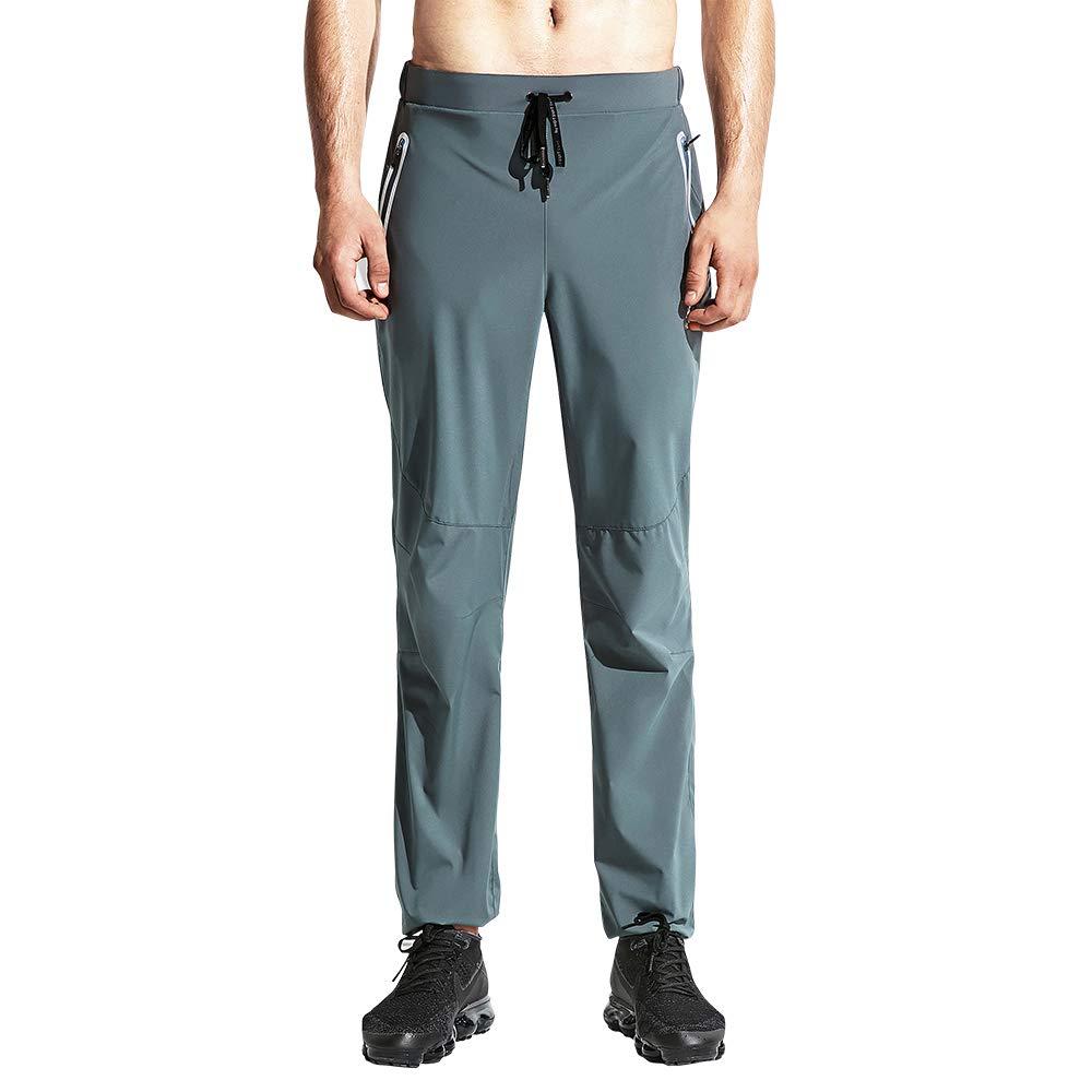 HOTSUIT Sauna Suits Pants Weight Loss for Men (Grey,S)