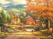 Buffalo Games - Chuck Pinson - Country Roads Take Me Home - 1000 Piece Jigsaw Puzzle