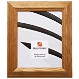 Craig Frames 78673001 14 by 20-Inch Picture Frame, Solid Wood, 1.8-Inches Wide, Honey Brown