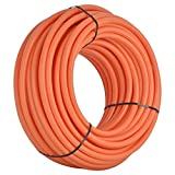 SharkBite U880O300 1-Inch PEX Tubing, 300 Feet, ORANGE, for radiant heat, hydronic heating and tile floor heating systems.