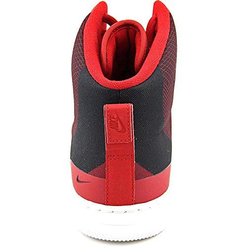 Nike NSW Pro Stepper, Scarpe da Basket Uomo Rosso / Bianco / Nero (Gym Red/Gym Red-summit White)