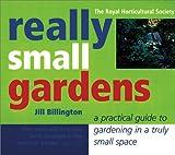 Really Small Gardens, Jill Billington, 1552853071
