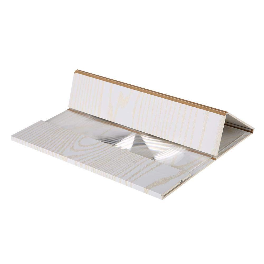 Eboxer Amplificatore Portatile per Schermo ad Alta Definizione da 12con Supporto Anti-Radiazioni in Legno Bianco