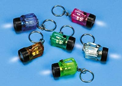 Mini Keychain Flashlight (1 pack of 12) by unknown