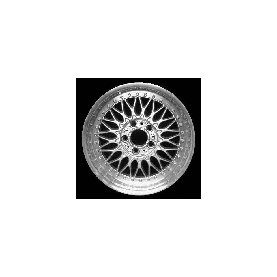 97 00 BMW 528I 528 i ALLOY WHEEL RIM 17 INCH, Diameter 17, Width 8 (WEB DESIGN), 20mm offset Style #5 Two piece, SILVER, 1 Piece Only, Remanufactured (1997 97 1998 98 1999 99 2000 00) ALY59255U10