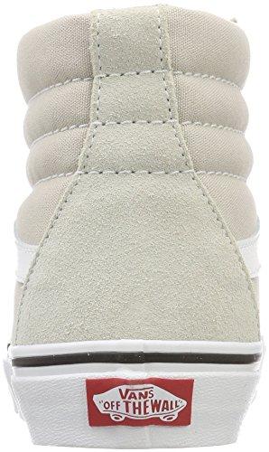 Suede SK8 Sneaker Beige Canvas Collo White Unisex Hi Qa3 Lining Adulto Classic Alto a Vans Silver True dFxqtq