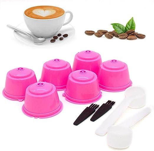 Hamkaw 6 Unidades K-Cup Filtro de café Reutilizable, cápsulas de ...
