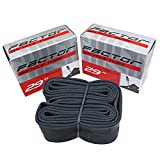 Factor Tubes 29 x 1.75-2.125 Presta Valve 48mm (2 Pack)