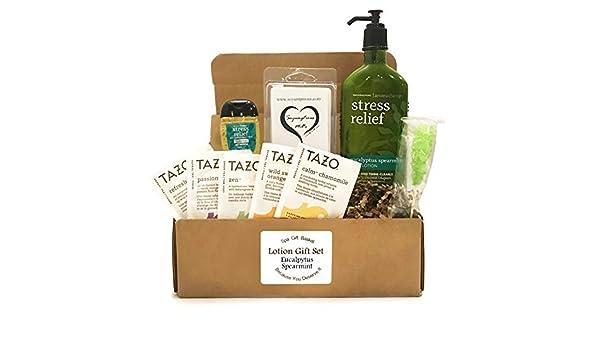 Amazon.com  Bath u0026 Body Aromatherapy - Bath u0026 Body Spa Gift Baskets - Aromatherapy Gift Set - Because You Deserve It -Stress Relief -or- Energizing -or- ...  sc 1 st  Amazon.com & Amazon.com : Bath u0026 Body Aromatherapy - Bath u0026 Body Spa Gift Baskets ...