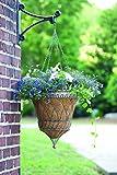 Cheap Gardman R572 Victorian Parasol Hanging Basket with Chain, Antique Verdigris, 14″ Diameter