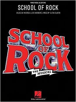 School of rock musical book