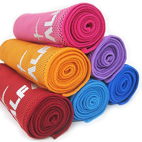 Gym Towel Online India: Alfamo Cooling Towel For Sports, Workout, Fitness, Gym