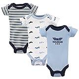Luvable Friends Baby Infant Bodysuit, 3 Pack, Airplanes, Preemie