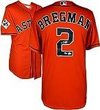 Alex Bregman Houston Astros 2017 MLB World Series Champions Autographed Majestic World Series Orange Replica Jersey - Fanatics Authentic Certified