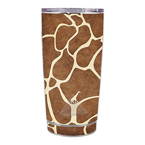 Skin Decal Vinyl Wrap for Ozark 20 oz Tumbler Cup Skins Stickers Cover / Giraffe Print Cute Giraffe (Print Giraffe Mug)