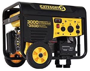 Champion Power Equipment 46561 4,000 Watt 196cc 4-Stroke Gas Powered Portable Generator With Wireless Remote Electric Start