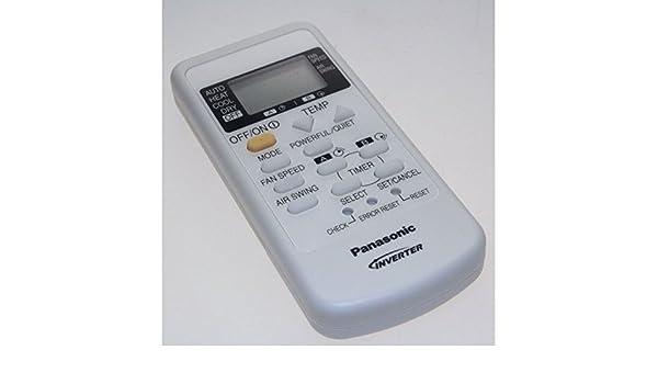 Panasonic – Mando a distancia para aire acondicionado Panasonic: Amazon.es: Hogar
