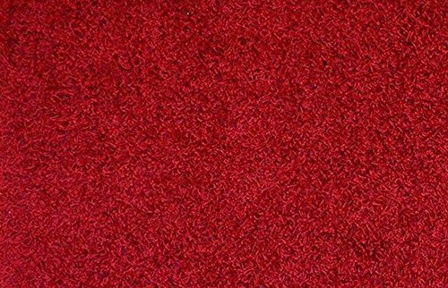 Dark Red Machine (RugStylesOnline, Shaggy Collection Shag Area Rugs, 2' x 3'3