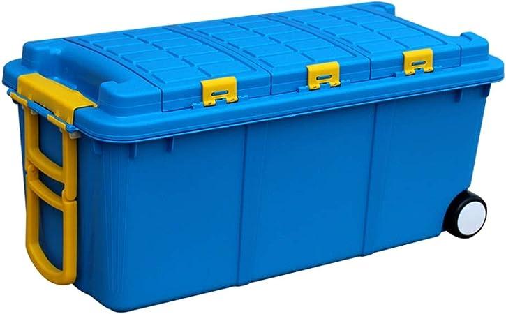 Caja de almacenamiento de Coches Maletero multifunción (Color : Blue, Size : L78cm*W36cm*H34cm): Amazon.es: Hogar