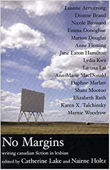 Book No Margins: Canadian Fiction in Lesbian: Writing Canadian Fiction in Lesbian