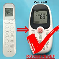 HA-15953 Replacement for Comfortstar Air Conditioner Remote Control RG36B2/BGEF ( Display in Fahrenheit)