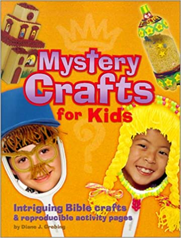 Mystery Crafts For Kids Intriguing Bible Crafts Reproducible