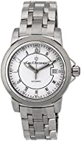 Carl F. Bucherer Patravi AutoDate Automatic Steel Mens Watch White Dial 00.10617.08.23.21