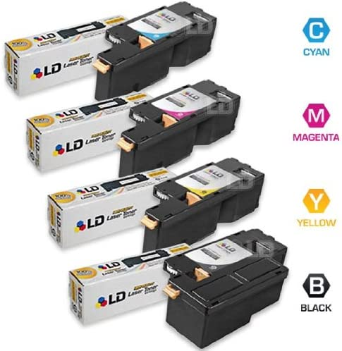 1 1 Magenta 106R01628 1 Cyan 106R01627 LD Compatible Xerox Phaser 6010 Cartridges : 1 Black 106R01630 4 Pack