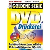 DVD-Druckerei, CD-ROM Professionelle Cover, Labels und Inlets für Ihre selbst gebrannten DVDs & CDs. Für Windows 98, 98SE, ME, NT4, 2000, XP