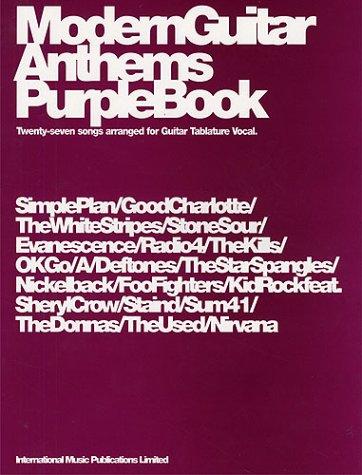 Modern Guitar Anthems Purple Book   Guitar Tab