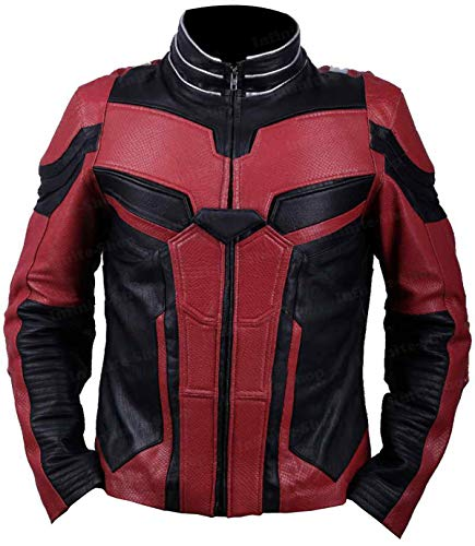 end Game Paul Rudd Scott Lang/Ant-Man Leather Jacket