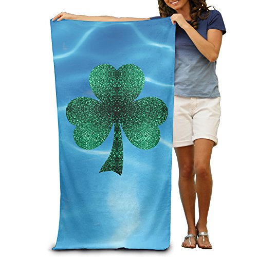 "Olympic Games Rio 2016 Irish Shamrock 31.5""51""Pool Beach Towel"