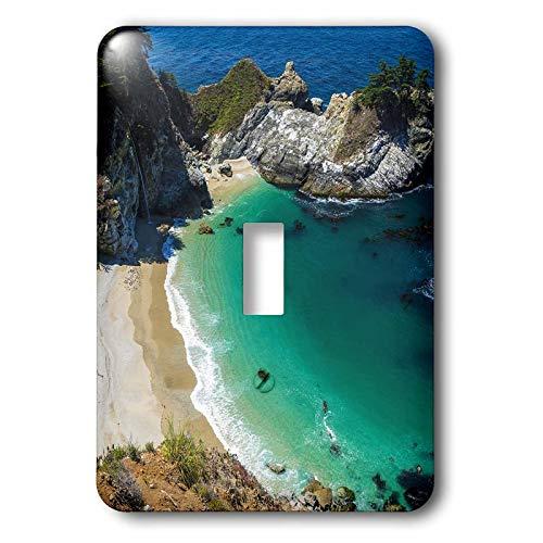 3dRose Danita Delimont - California - McWay Cove, Julia Pfeiffer Burns State Park, Big Sur, California, USA - 2 plug outlet cover (lsp_314702_6) (Julia Pfeiffer Burns State Park Big Sur)