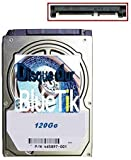 Disque dur interne 120Go pour Playstation 3 / PS3 / PS4 / PS3 Slim / PS3 FAT / MacBook Pro avec NOTICE PAPIER en Français (120GO)