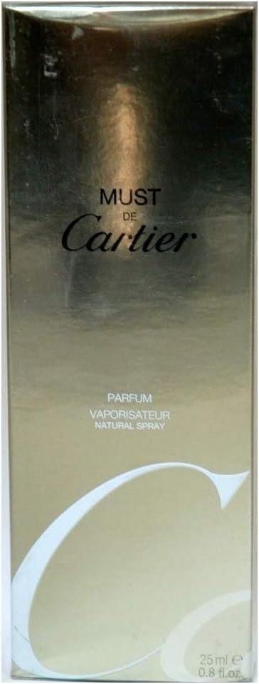 CARTIER MUST CARTIER PARFUM EDP 25ML