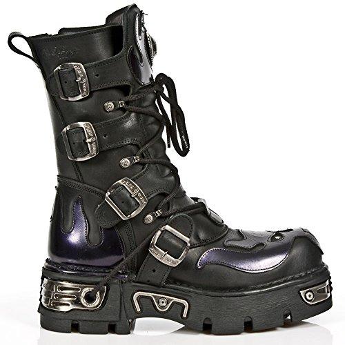 New Rock Botas Estilo 107 S4 púrpura