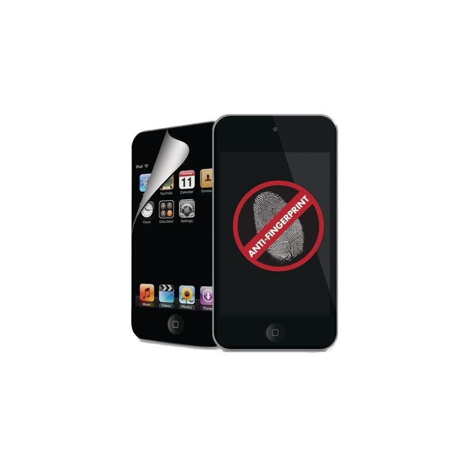 TOUCH 4G ANTI FINGERPRINT SCREEN PROTECTIVE OVERLAY (ANTIFINT4