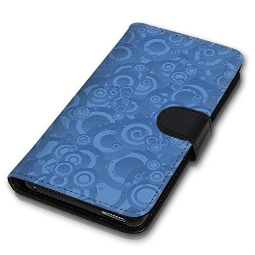 Wallet Book Style Flip Handy Tasche Case Schutz Hülle Schale Motiv Etui für Apple iPhone 6 Plus / 6S Plus - Design Flip MV263