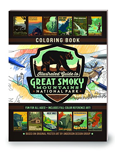 Virgin River Zion National Park (Illustrated Guide to Great Smoky Mountains: Coloring Book)