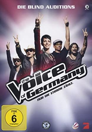 The Voice Of Germany - Die Blind Auditions [3 DVDs]: Amazon.de ...