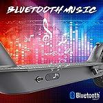 MARKBOARD-Monopattino-eletttrico-85-Pollici-Pieghevole-Scooter-Elettrico-con-App-e-Bluetooth-Batteria-75Ah-con-Faro-Nero