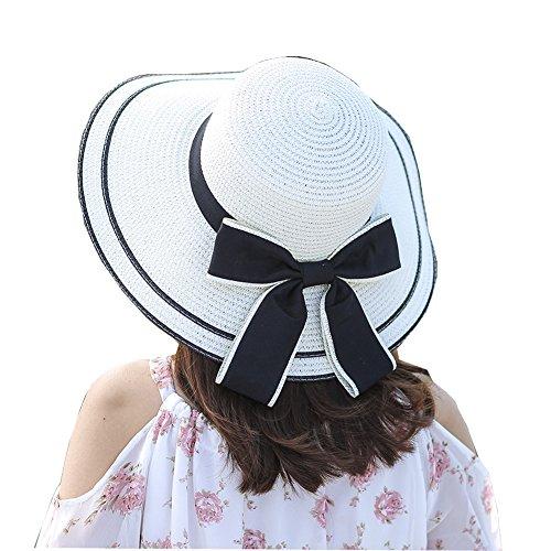 Large Rose Sun Hat - 8