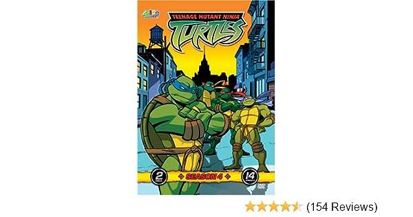 Amazon.com: Teenage Mutant Ninja Turtles - Season 4 (2 Discs ...