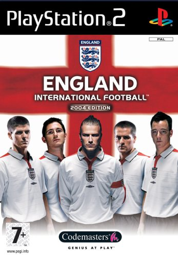 ENGLAND INTERNATIONAL FOOTBALL 2004 & DVD