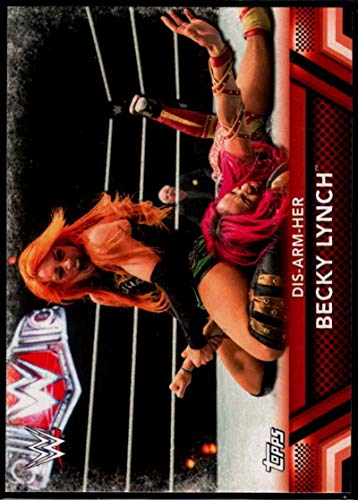 (Wrestling Wrestling 2017 Topps Women's Division Finishers and Signature #F-7 Becky Lynch Dis-Arm-Her)