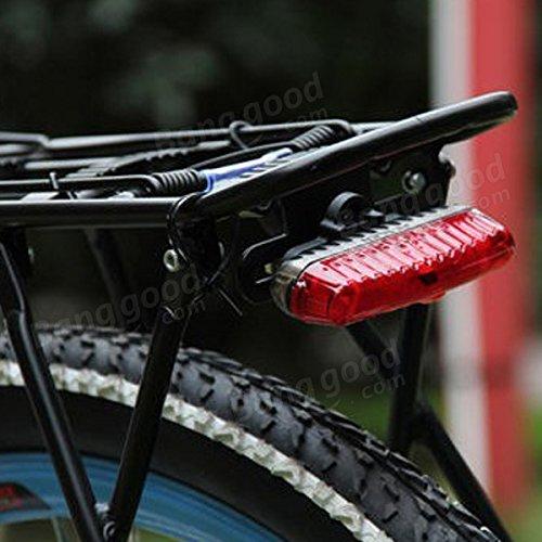 Bazaar 3 LED 2 mode de lampe de lumière de vélo de montagne de la lampe à vélo queue de lumière